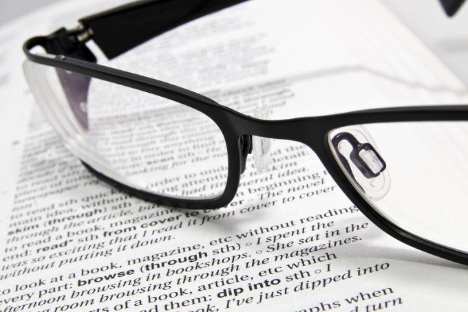 Как выписать очки