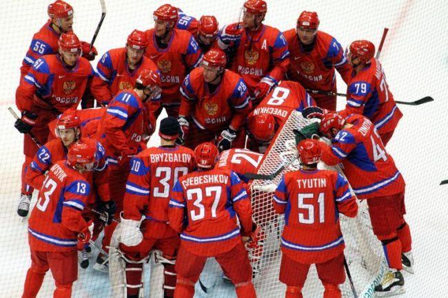 Как выступила сборная россии по хоккею на чемпионате мира 2012