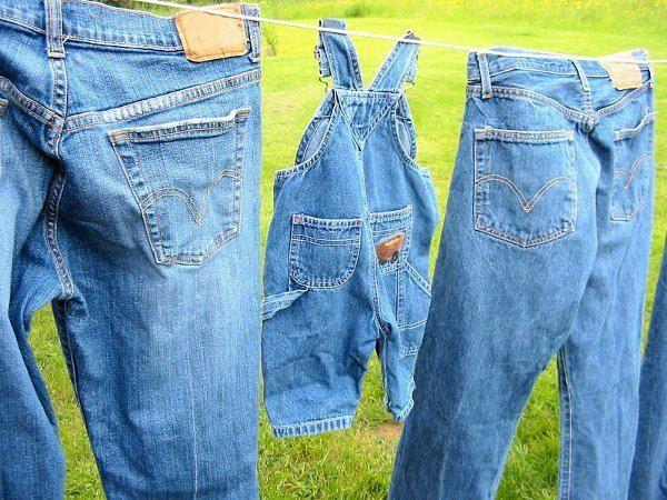 Как высушить джинсы