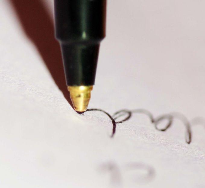 Как вывести чернила с бумаги