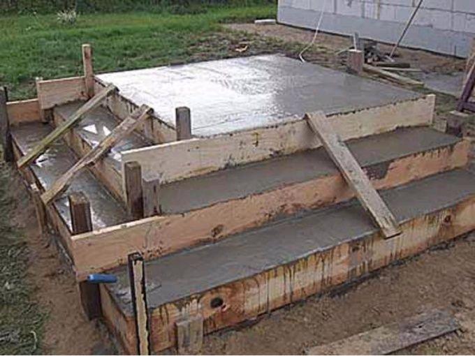 Как заливать бетон