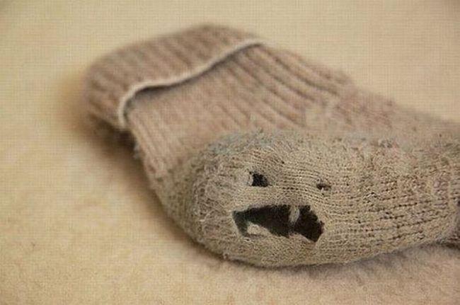 Как зашить носки быстро и качественно