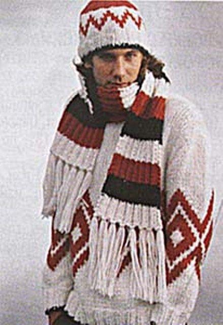 Как завязать мужской шарф