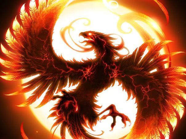Китайский феникс - талисман для достижения цели