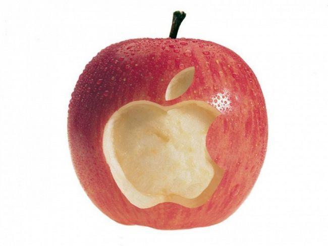 Почему у apple знак яблока