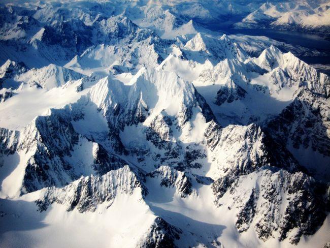 Прогулки по норвегии: горы люнгсальпене