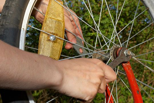 Как ремонтировать велосипед