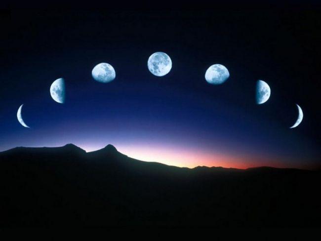Как определить фазу луны
