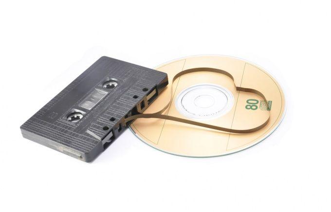 Как переписать кассету на диск