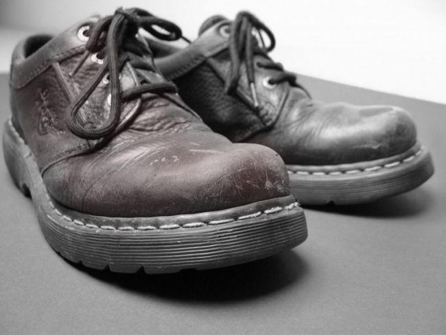 Как самому прошить обувь
