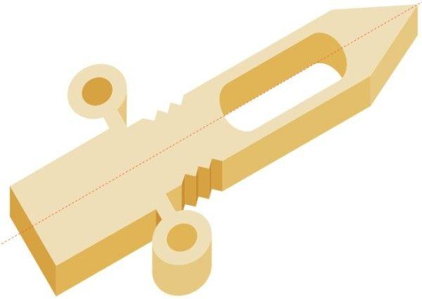 Как сделать деревянный нож