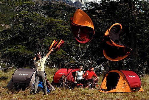 Как собрать китайскую палатку