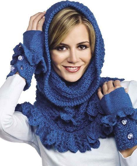Как связать шарф-трубу
