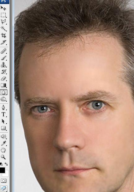 Как убрать тень с лица в фотошопе