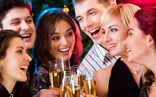 Как встретить смешно новый год