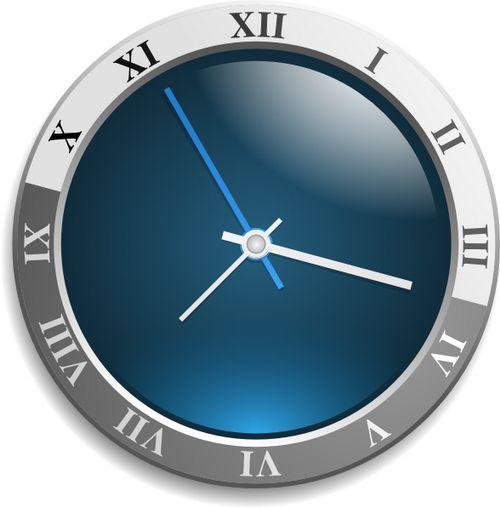 Как вывести часы на рабочий стол