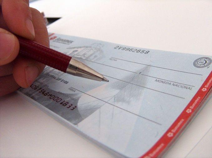 Как заполнить чековую книжку